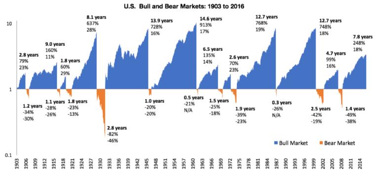 6 důvodů proč nemít strach zmedvědího trhu