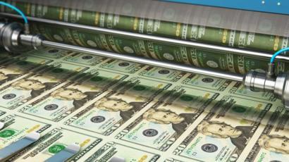 tištění peněz